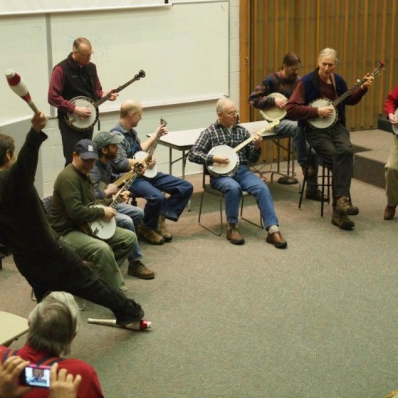 Sixth Annual Anchorage Folk Festival Banjo Contest