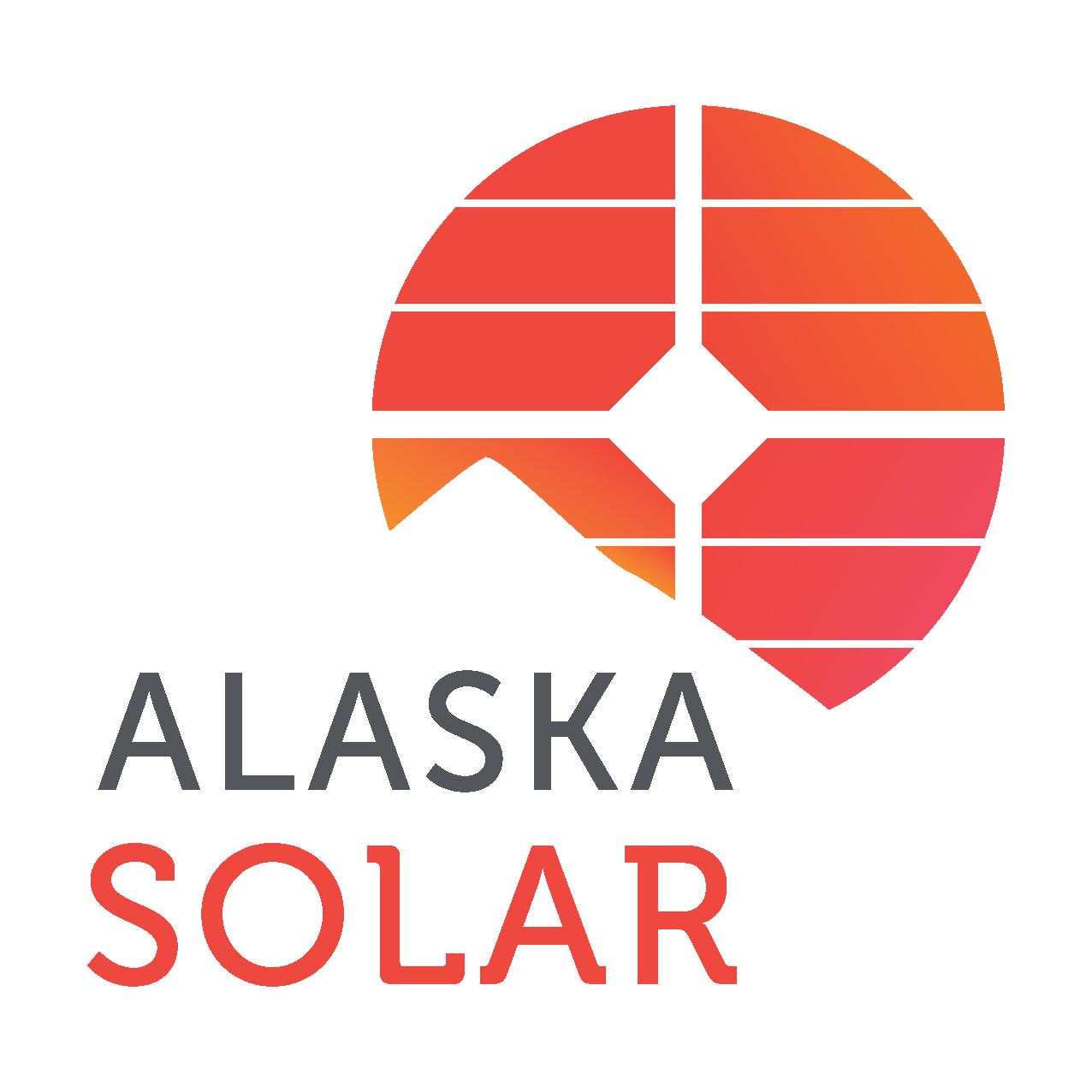 Alaska Solar logo